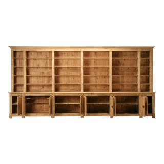 French Bookcase in Burl Elmwood