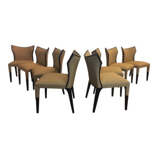 Italian Designer Dining Chairs - Set of 8