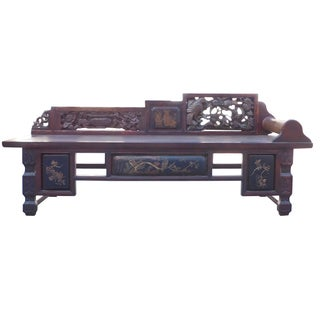 Vintage Fujian Scenery Daybed