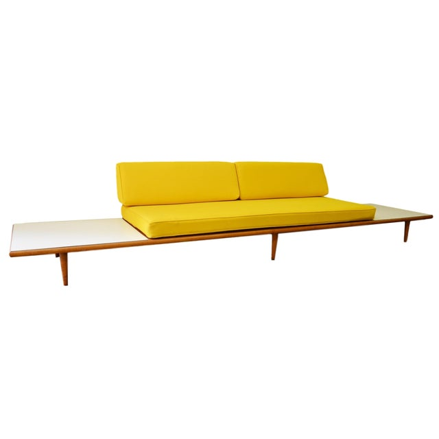 Mid Century Modern Sofa With New Upholstery Chairish