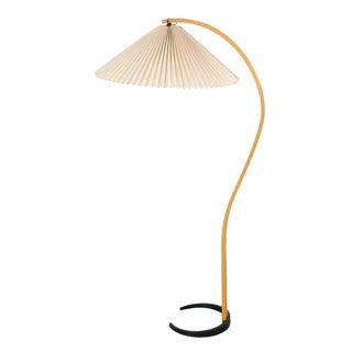Mads Caprani Danish Modern Bentwood Floor Lamp