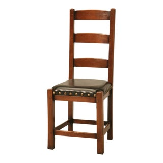 Set of Six Ladderback Side Chairs