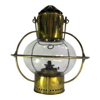 Vintage Brass Wall Lantern