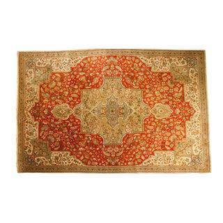 Vintage Tabatabaie Tabriz Carpet - 6′8″ × 10′2″