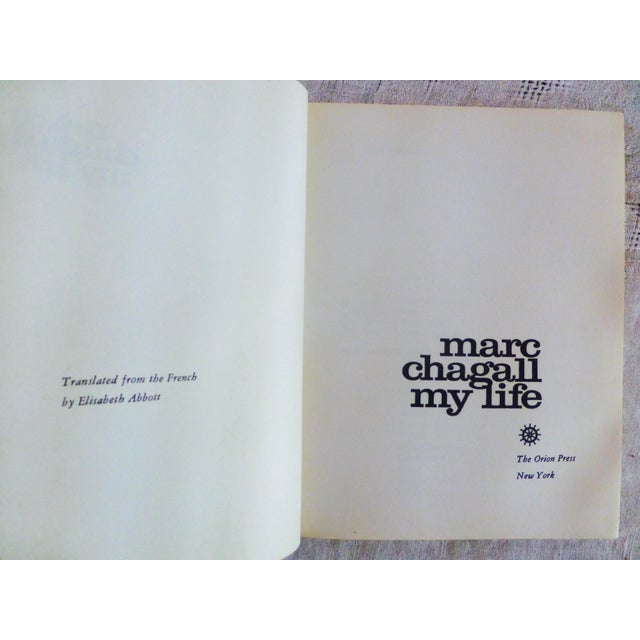 """Image of """"My Life"""" Illustrated Book by Marc Chagall"""