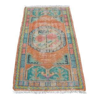 Turkish Handwoven Floor Carpet - 2′7″ × 4′11″