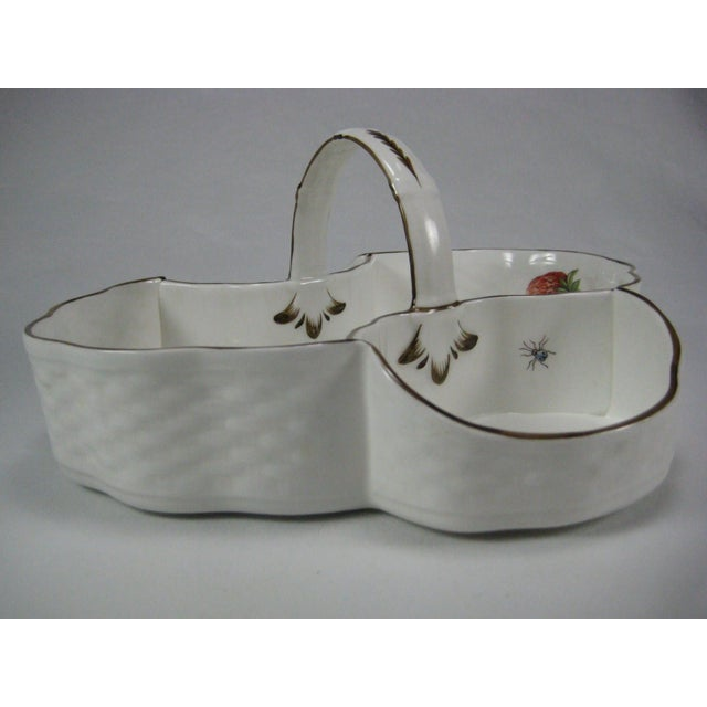 Coalport Bone China Strawberry Basket - Image 4 of 9