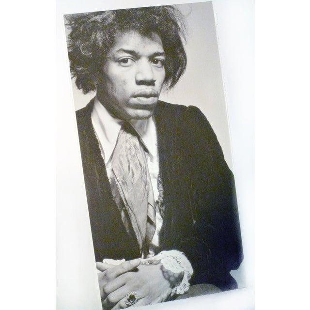 Vintage Jimi Hendrix Portrait Photograph - Image 3 of 3