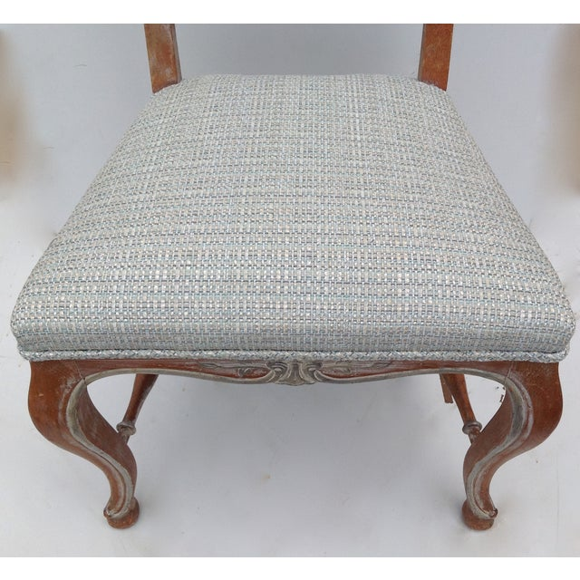 Antique French Parcel Gilt Accent Chair - Image 10 of 11