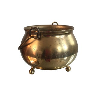 Small Brass Decorative Pot