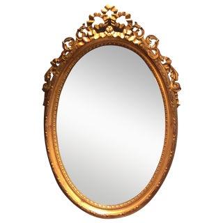 Ethan Allen Gold Bow Mirror