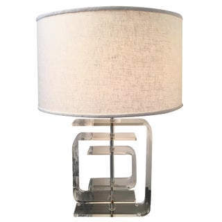 Vintage Lucite Lamp