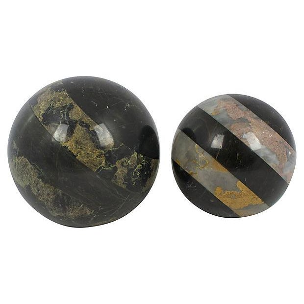 Image of Marble Spheres - a Pair