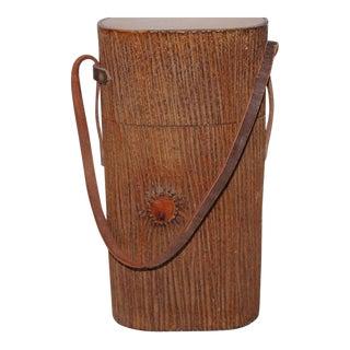 Monumental Cuban Bark Covered Cigar Shoulder Bag
