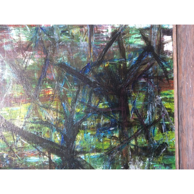 Image of Abstract Dead Woods Painting