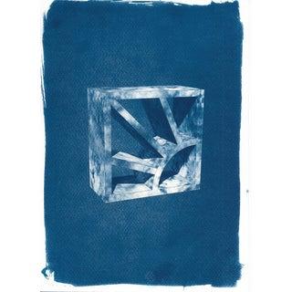 Cyanotype Print, Screen Brick or Breeze Block