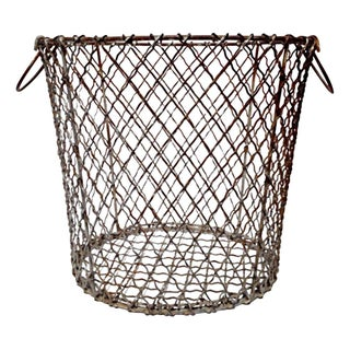 1940 New England Clamming Basket