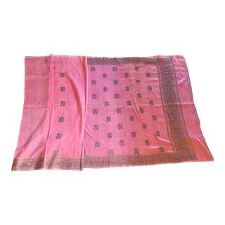 Pink Sari Fabric