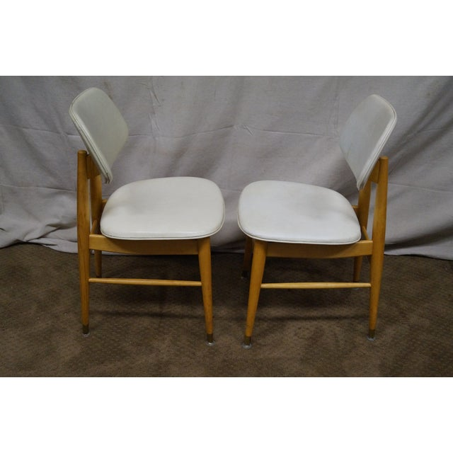 thonet mid century modern 1950s side chair pair chairish. Black Bedroom Furniture Sets. Home Design Ideas