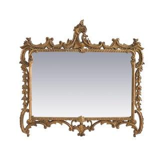 Gilded Buffet Mirror