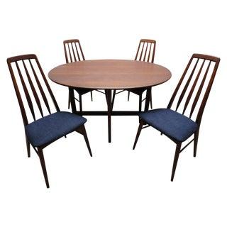 Koefoeds Hornslet Danish Modern Oval Dining Set
