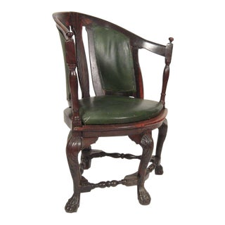18th Century Colonial Indo-Portuguese Rosewood Armchair