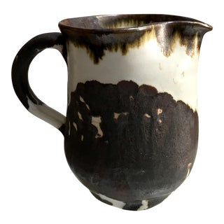 Hand Thrown Studio Pottery Pitcher