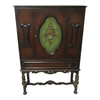 Art Deco China or Book Cabinet