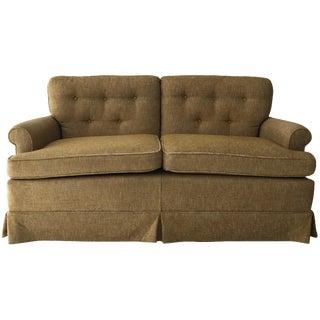 Sage Tweed Love Seat