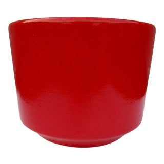 Gainey Style Speckled Red Planter
