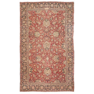 Antique Oversize Persian Khorasson Carpet