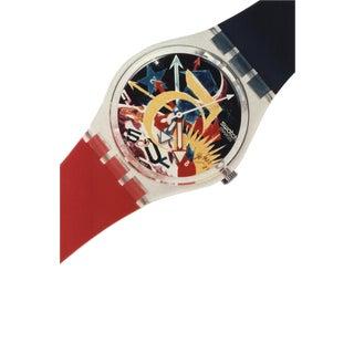 "1987 ""Swatch: Tadanori Yokoo-Rorrim 5"" Poster"