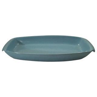 Frankoma Vintage Westwind Blue Platter