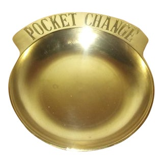 Brass Pocket Change Dish