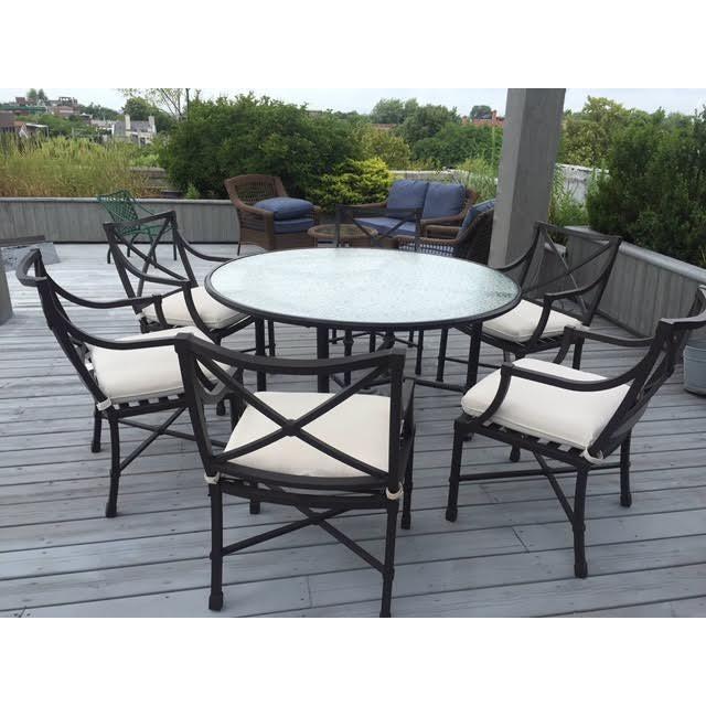Brown Jordan Outdoor Dining Table - Image 2 of 2