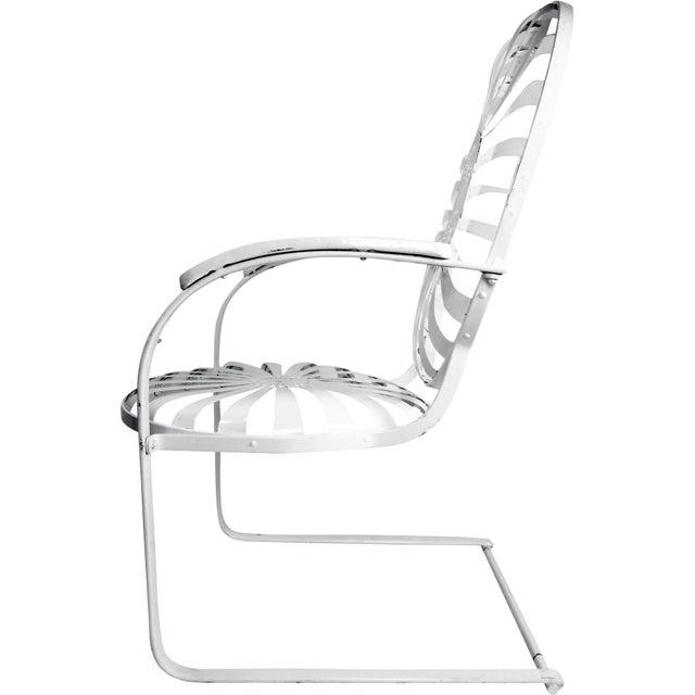 Francois Carre Vintage Sunburst Cantilevered Chairs - A Pair - Image 9 of 11