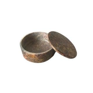 Modern Granite Spice Canister
