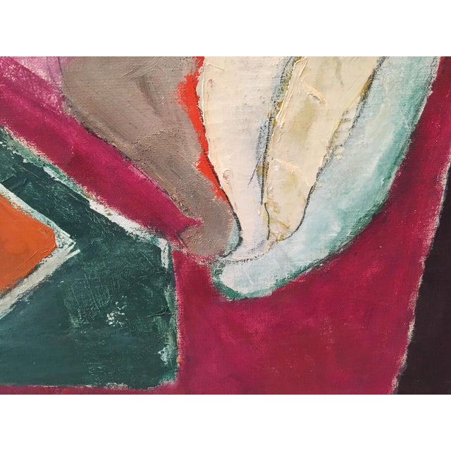 """Natura Moarta"" Abstract Still Life Painting - Image 4 of 10"