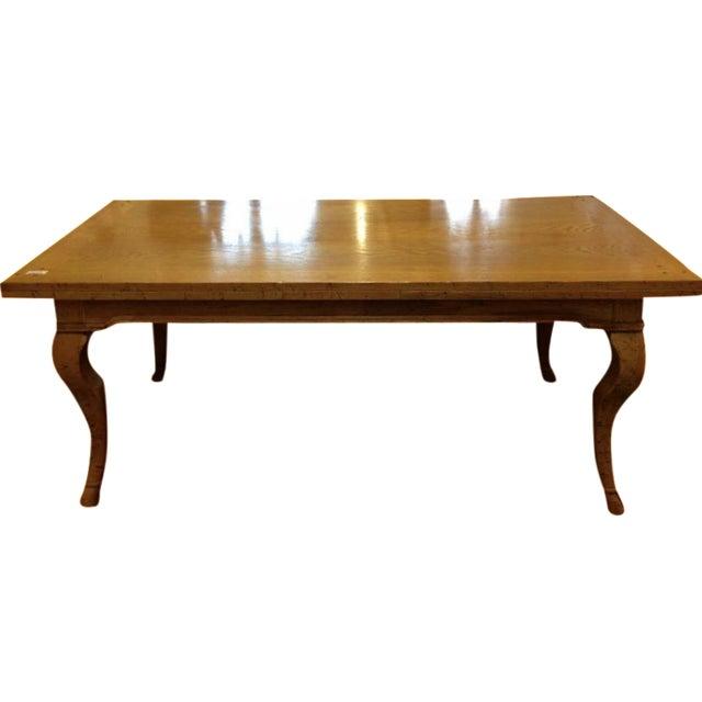 Modern Cabriole Leg Dining Table