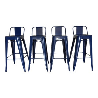 Tolix Bar Stools - Set of 4