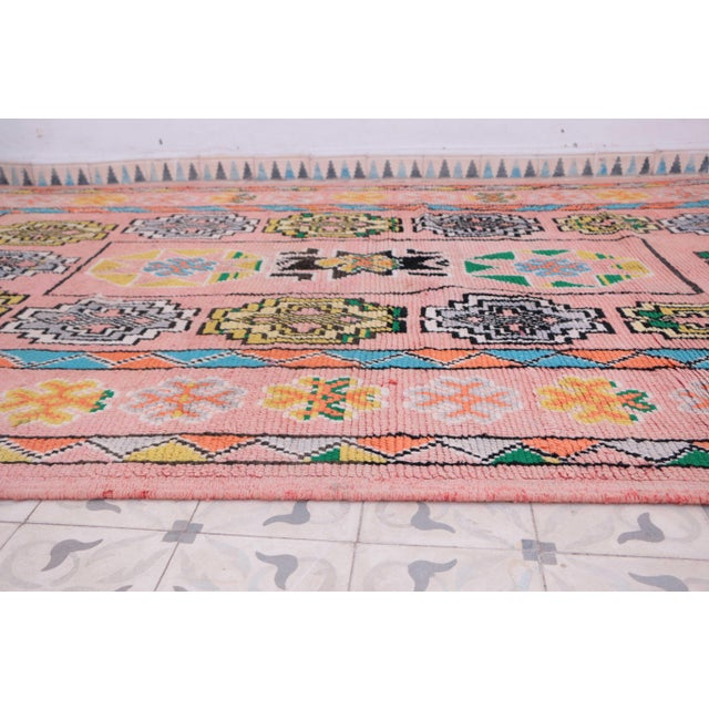 "Boujad Vintage Moroccan Rug, 6'1"" x 10'10"" - Image 3 of 4"