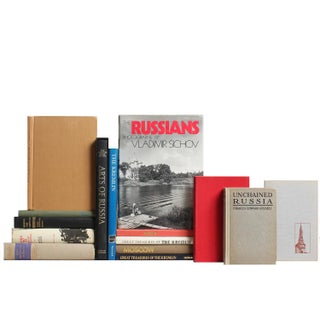 Russian Landmarks & History Books - Set of 15