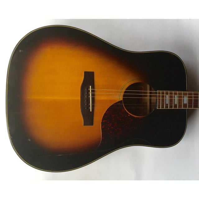 Vintage 1960s Gibson Acoustic Guitar - Image 9 of 10