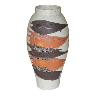 Royal Haeger Mid-Century Earth Wrap Vase