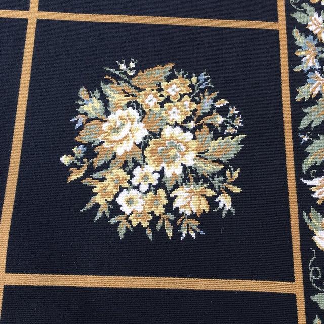 Stark Floral Motif Area Rug - 11′2″ × 14′6″ - Image 6 of 10