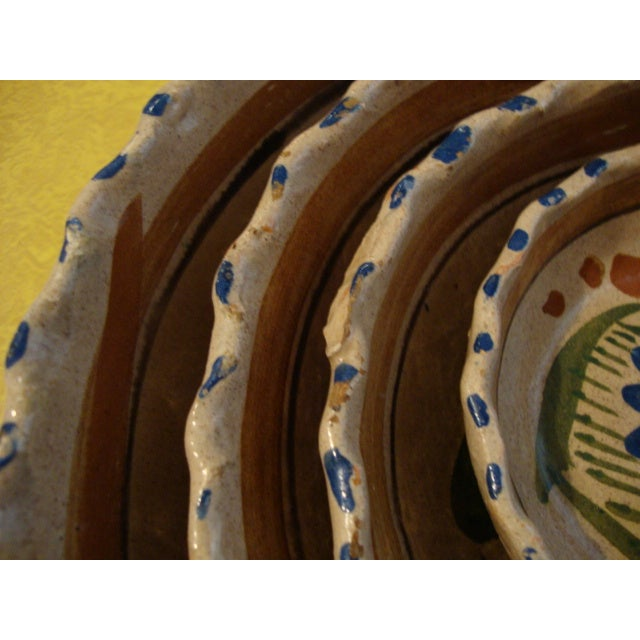 Mexican Tlaquepaque Nesting Bowls - Set of Four - Image 10 of 10