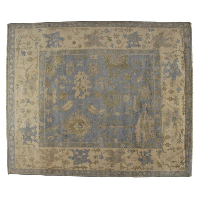 "Leon Banilivi Oushak Carpet - 9'7"" X 8'2"" - Image 1 of 5"