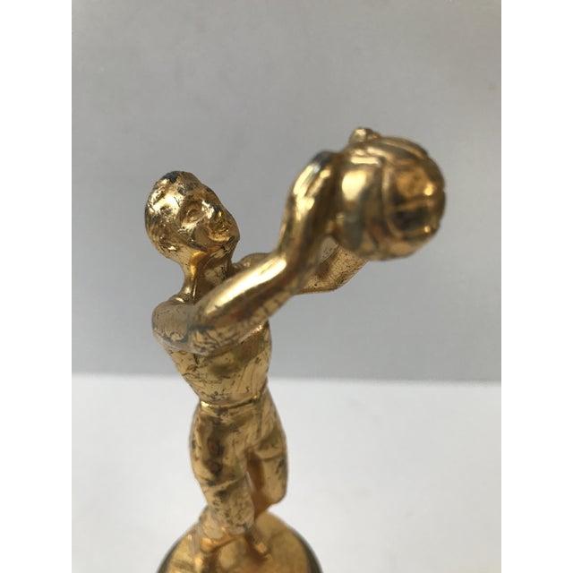 Vintage Basketball Trophy - Image 7 of 9