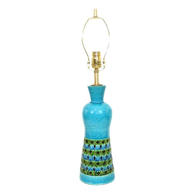 Bitossi Raymor Rimini Blue Pottery Lamp - Image 1 of 7