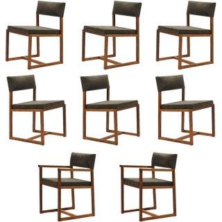 De La Espada Black Walnut Dining Chairs